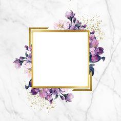Vintage Flowers Wallpaper, Flower Background Wallpaper, Flower Backgrounds, Background Patterns, Background Vintage, Rose Frame, Flower Frame, Gold Marble Wallpaper, Wedding Badges
