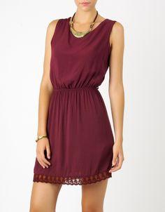 #vestido puntilla Double Agent por 24€ en www.doubleagent.es #fashion #ropa #looks