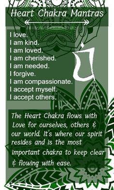 Heart Chakra; The Love Chakra