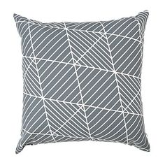 Living & Co Cushion Dakota Charcoal 43cm x 43cm