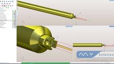 We have simulated for you a swiss type machining with a nomura in SprutCAM PDM. See how easy the programming works. Programming, Videos, All In One, Youtube, It Works, Software, Tools, Type, Easy