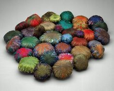 Lynette Haggard Art Blog: Woven, Crumpled, Suspended: Sheila Hicks