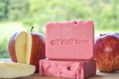 Macintosh Apple Goat Milk Soap: Available Sept 5th $6