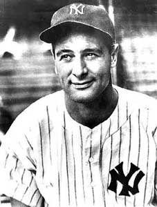 Lou Gehrig | ... of the yankees actor gary cooper plays ny yankee player lou gehrig