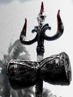 The picture of Shiva with trishul and damaru it is beautiful Shiva Shakti, Rudra Shiva, Shiva Linga, Aghori Shiva, Durga Maa, Lord Shiva Hd Wallpaper, Dark Wallpaper, Cartoon Wallpaper, Watch Wallpaper
