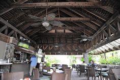 Beach Bar and Grill at Caneel Bay, St. John, USVI.