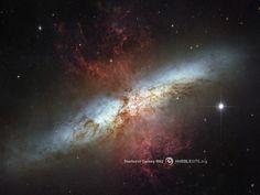 Starburst Galaxy M82