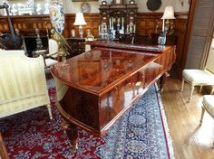 Antiques:  The Calhoun Mansion, Charleston, SC: Bosendorfer grand piano