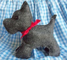 DIY Scotty Dog - Free Template and Tutorial