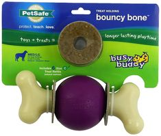 PetSafe Busy Buddy Bouncy Bone Dog Toy -- See this great product. (This is an affiliate link) #Pets