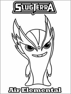 slugterra coloring pages 2