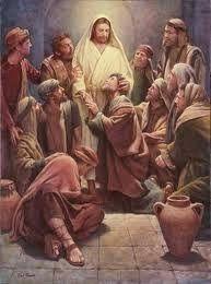 IO e un po' di briciole di Vangelo: (Mc 16,9-15) Andate in tutto il mondo e proclamate...