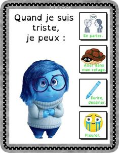 Autisme : gestion des émotions (négatives) Emotions Activities, Montessori Activities, Educational Activities, Activities For Kids, Autism Education, Social Projects, Social Stories, Learn French, Teaching Math