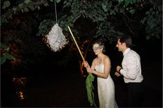 Wedding Pinata - #dcweddings #pinata #weddingpinata #eleganceandsimplicity #weddingideas #dcweddingplanner