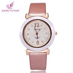 Find More Women's Wristwatches Information about Women watches brand 2015 fashion casual pu leather strap watches quartz analog crystal diamonds ladies dress ladies wristwatch,High Quality dresses best,China watches bulk Suppliers, Cheap dress d from Smart Feeling boutiques on Aliexpress.com