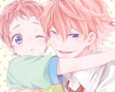 Free! ES ~~ More fanart of the adorable Shigino Brothers! :: Kisumi and Hayato