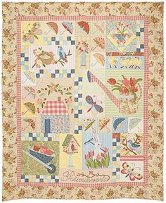 Primavera - Heirloom Quilt Pattern  Verna Mosquera  The Vintage Spool Superbe!