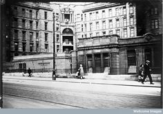 Glasgow Royal Infirmary, My Mother was born that year in Glasgow & quite possibly this hospital. Glasgow Scotland, Edinburgh, Old Pictures, Old Photos, Glasgow Architecture, Old Hospital, 2nd City, Interesting Buildings, Best Cities