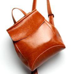 New arrival Genuine Leather Backpacks Women Korean Style Fashion Rucksacks School Backpack For Girls Mochila Brand Designer Bags - Best price store Ladies College Bags, Backpack Bags, Fashion Backpack, Travel Backpack, Messenger Bags, Travel Bags, Girl Backpacks, Leather Backpacks, Backpacks For Sale