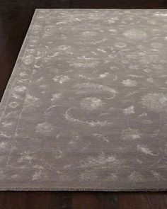 Silver Sand Rug at Neiman Marcus.