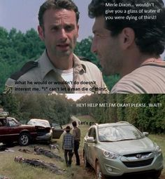 The Walking Dead... love the difference in Rick from Season 1 to now... RG for LIFE!
