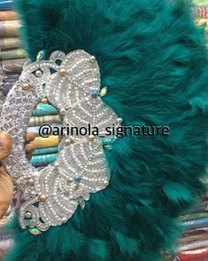 Juju Hat, African Models, Flower Bouquet Wedding, Projects To Try, Feather, Fans, Bridal, Hand Fan, Veil