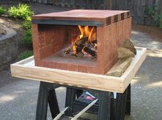 Four à pizza bois : Build a dry stack wood-fired pizza oven comfortably in one day! Dry Stack Wood Fired Pizza Oven Samples Sharing is caring, don't Portable Pizza Oven, Diy Pizza Oven, Pizza Oven Outdoor, Outdoor Cooking, Pizza Ovens, Outdoor Kitchens, Backyard Projects, Outdoor Projects, Diy Projects