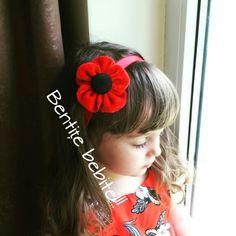 Red red flower Red Flowers, Baby Girls, Fashion, Moda, Fashion Styles, Little Girls, Toddler Girls, Fashion Illustrations