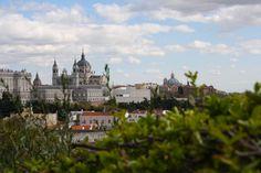 Almudena y Palacio Real de Madrid