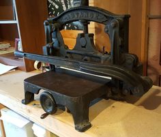 Vintage Challenge Advance Guillotine Manual Paper Cutter