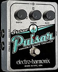 Electro-Harmonix Stereo Pulsar Variable Shape Tremolo