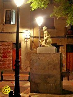 """""""Font del Cargol"""" en la plaça de Les Escudelles."""