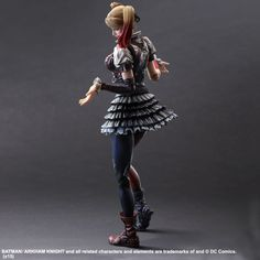 Square Enix Harley Quinn Batman Arkham Knight Play Arts KAI Action Figure HARLEY QUINN is the lovable villainess who isn't afraid of being called a liar or a Batman Arkham Knight, Harley Quinn, Figurine Batman, Kai, Batman Action Figures, Gotham Girls, Deadshot, Photo Today, Riddler