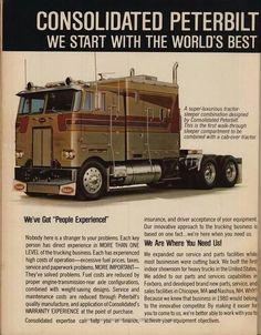Peterbilt 372 Cabover. | Cabover Trucks: We Got Cabover Fever ...