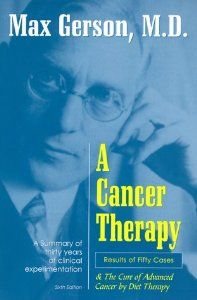 Written by the Dr. who cured cancer (and many other chronic diseases) and was murdered for his discovery.