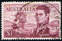 Australian Stamp Australia 1963 SG 358 Captain Flinders Fine Used Scott 377 Stamp Values, Australian Painting, Buy Stamps, Stamp Catalogue, Mint, Stamp Printing, Commonwealth, Stamp Collecting, Vintage Images