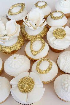 30 Totally Unique Wedding Cupcake Ideas ❤ See more: http://www.weddingforward.com/unique-wedding-cupcake-ideas/ #weddings #cakes