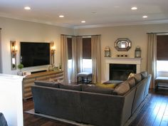 Denise Briant Interiors: A Client's Family Room Before and After Reveal!