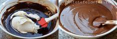TORT CU MOUSSE DE CIOCOLATA SI CAPSUNI - Rețete Fel de Fel Chocolate Fondue, Ice Cream, Desserts, No Churn Ice Cream, Tailgate Desserts, Deserts, Icecream Craft, Dessert, Ice