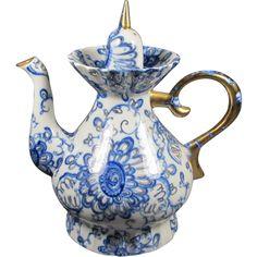 Russian Porcelain Tea Pot