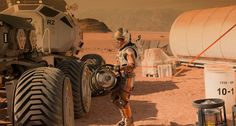"""Behind the Scenes of """"The Martian"""" directed by Ridley Scott / 10月2日に劇場公開されたRidley Scott監督の「The Martian」のメイキングビデオが、Wired DESIGN FXで紹介された。"""