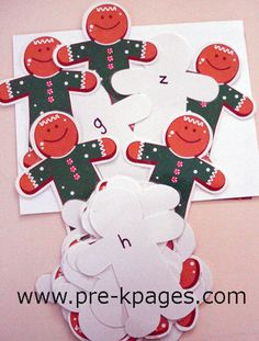 Gingerbread Themed Activities  Pre-K Pages