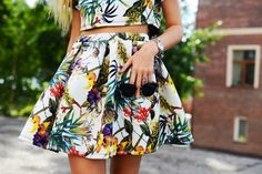 The Fashion Around: TROPICAL TWO PIECE SUIT