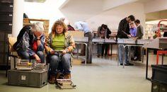 Antwerpen: Boekenverkoop in bibmagazijn Kotter ten voordele van 11.11.11