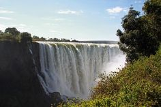 This week our consultants moved on from Chobe to Zimbabwe to explore the Victoria Falls and its many excitements. Victoria Falls, Seven Wonders, Holiday Destinations, Natural World, Waterfall, The Incredibles, Smoke, Explore, Nature