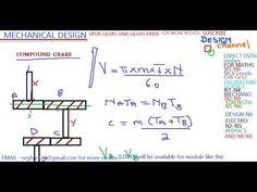 MECHANICAL DESIGN N6 Gear Drive, Mechanical Design, Physics, Math, Friends, Videos, Youtube, Amigos, Math Resources