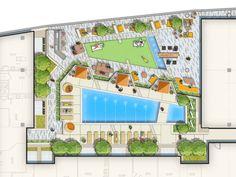 Parker Rodriguez Inc. Landscape Plans, Landscape Architecture, Landscape Design, Garden Design, Plan Sketch, Site Plans, Parking Design, Plant Species, Master Plan