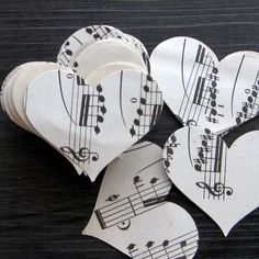 Can do myself! Vintage sheet music confetti 100 1910s sheet music by Artesenias, $4.00