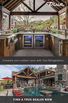 No home is complete without an outdoor kitchen that you& never want (or need) to leave. No home is complete without an outdoor kitchen that youll never want (or need) to leave.