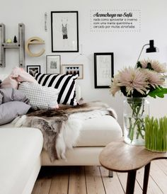 Neutral and cozy decor. #interior #design #decor #charm #casadevalentina